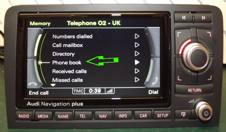 Genuine Audi Bluetooth Kit Supply Fit RNSE Or MFSW - Audi rns e